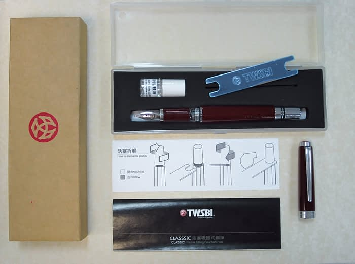 комплект перьевой ручки TWSBI Classic
