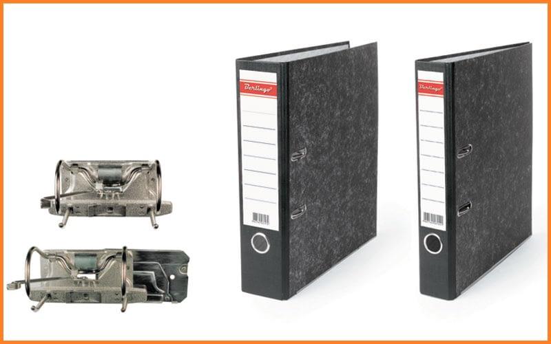 Арочные механизмы и регистраторы Hatber с шириной корешка 75 и 50мм