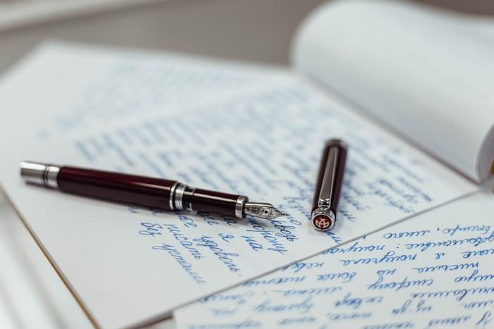 Красивая фотография перьевой ручки TWSBI Classic
