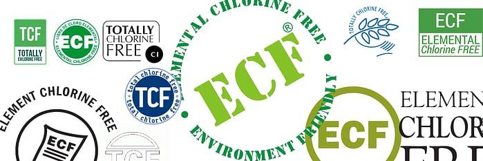 Собрал на одной картинке все варианты изображения логотипов Elemental Chlorine Paper и Totally Chlorine Paper. Некоторые брать не стал, очень уж плохого качества они были.
