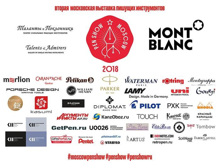 Список участников выставки.